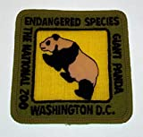 "Endangered Species Giant Panda The National Zoo Washington DC Patch 3"" x 3"""