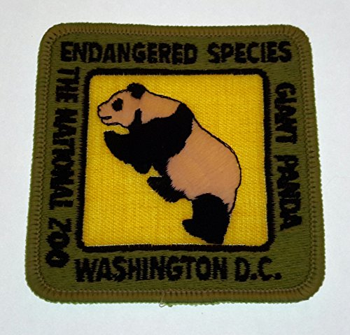 Dc Washington Nationals Patch (Endangered Species Giant Panda The National Zoo Washington DC Patch 3