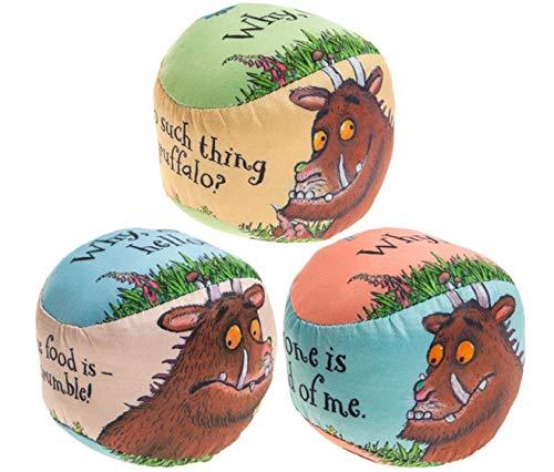 3 GRUFFALO PRINTED PLAY BALLS 3PC SET PMS International