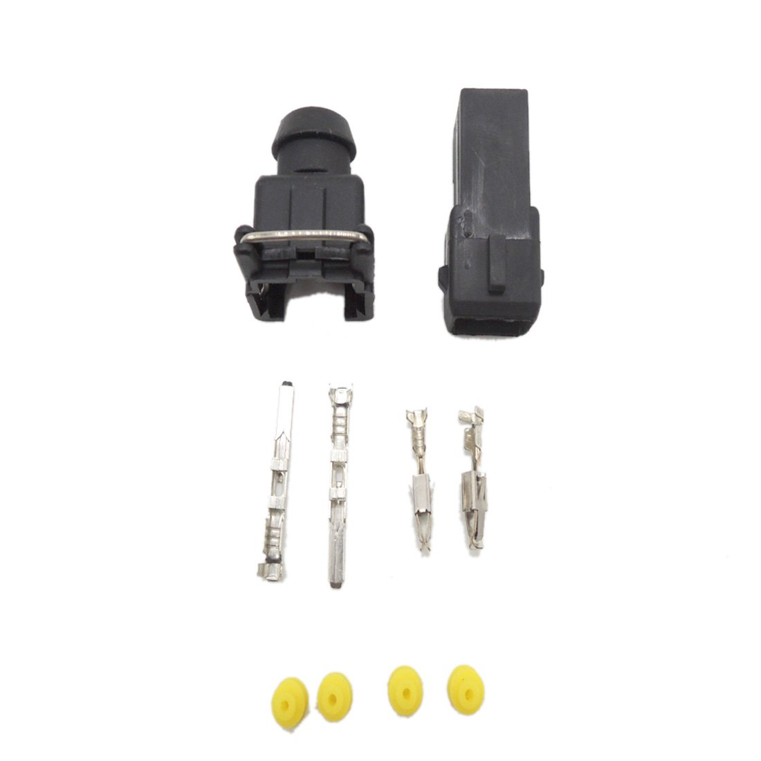 10 set EV1 Fuel Injector Plug nozzle Car Waterproof 2 Pin way Electrical Wire Connector Plug automobile Connectors for cars Ogry