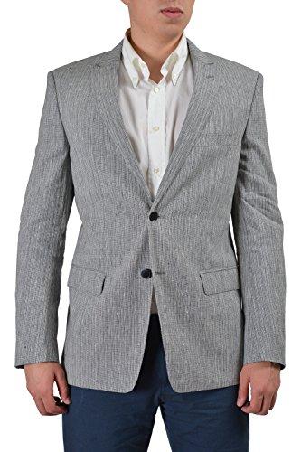 Versace Collection Men's Multi-Color Linen Silk Sport Coa...