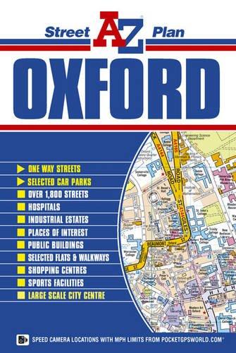 Oxford Street Plan (A-Z Street Plan)