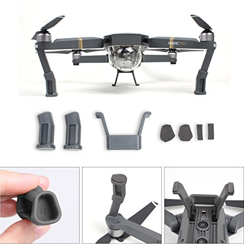 landing-gear-leg-height-extender-kit-riser-set-stabilizers-with-protection-pad-for-dji-mavic-pro