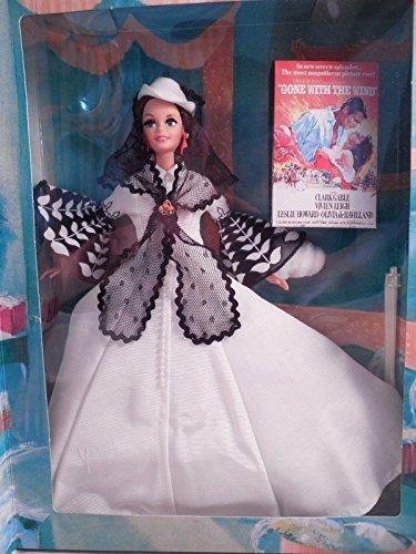 Barbie Doll as Scarlett O'Hara (black and white dress)
