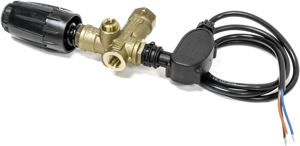 VRT3 Adjustable Unloader for Pressure Washer Pump 4500 PSI w// Pressure Switch
