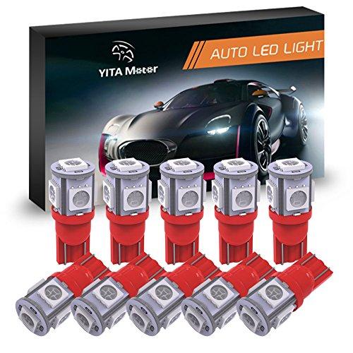 Red 12 Volt Led Light Bulbs in US - 4