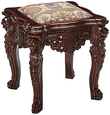 Design Toscano The Lord Raffles Lion Leg Gothic Stool