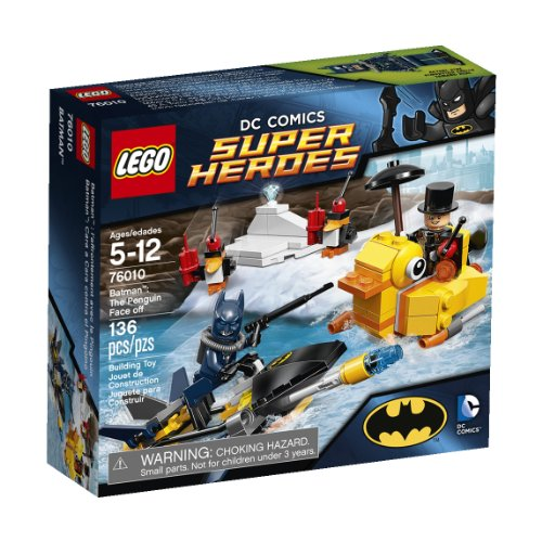 LEGO, DC Superheroes, Batman: The Penguin Face Off  (76010) (Discontinued by Manufacturer) ()