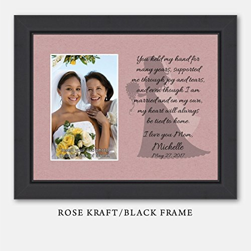 Amazon.com: Personalize Mother of the Bride You Held My Hand Picture ...