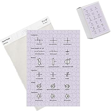 Foto Puzzle Der Schaltung, Standard Elektrische Symbole: Amazon.de ...