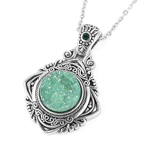 Vintage Statement Chain Pendant Necklace for Women, used for sale  Delivered anywhere in USA