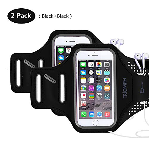 Armbands Waterproof Sports Running Armband Band Phone For Iphone Xiaomi Redmi 4x Note 5a 5 Inches Below Devices Sports Belt Pouch Bags Lustrous Surface