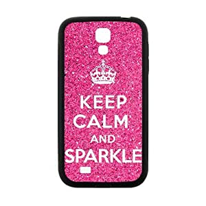 Pink simple motto design Cell Phone Case for Samsung Galaxy S4