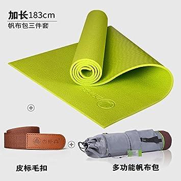 YOOMATEsterilla de Yoga para Principiantes 8Mm Engrosamiento ...