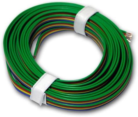 5m Kupferlitze 4 Adrig 0 14mm Kabel Ideal Rgb Beleuchtung
