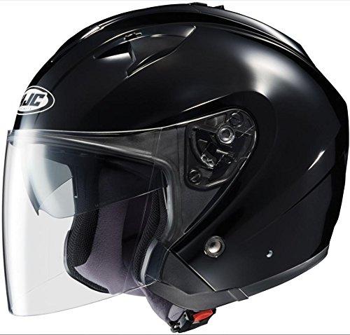 Black, Small 954-602 HJC IS-33 Open-Face Motorcycle Helmet