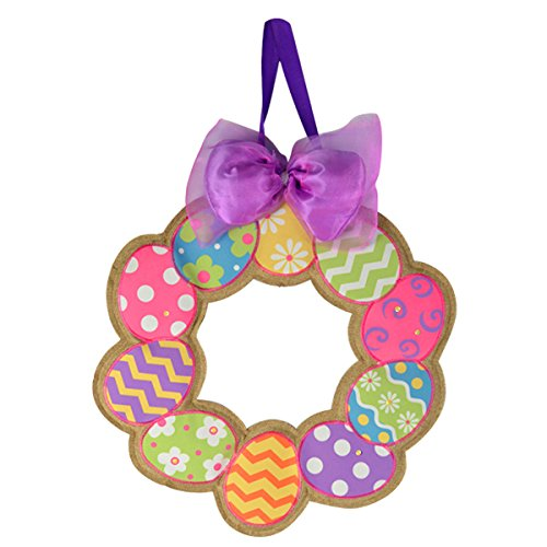 Easter Wreaths, Easter Egg Wreath Door Hanger Decoration