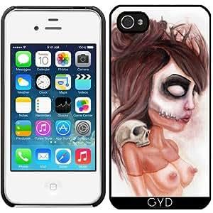 Funda para Iphone 4/4S - Impresión De Cráneo Semejante A La Muerte by Rouble Rust
