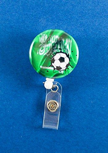 Saudi Arabia Soccer White Badge Reel