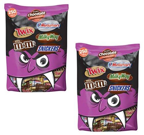 Cockatiel Halloween Costumes (MARS Chocolate Favorites Halloween Candy Bars Variety Assorted Mix Bag (96.2-oz. bag (500 ct)))
