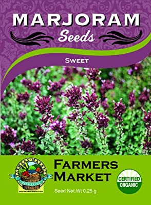 Toland Home Garden Organic Sweet Marjoram Seeds