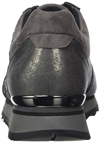 Damen Dark Derbys Casual 20 Gabor grey Grau Carbone Fw4YOq