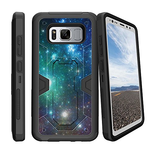 Samsung Galaxy S8 Active SM-G892A Phone Case[ NOT FOR REG S8] Phone Case for S8 ACTIVE, MINITURTLE Clip Armor Hybrid Holster + Kickstand Hybrid Case for S8 Active