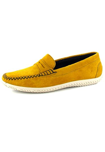 new products 60bf8 8060e SIOUX - Covena - Damen Mokassin - Gelb Outlet Schuhe Günstig ...
