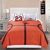 B-Ball 3-Piece Reversible Twin Comforter Set