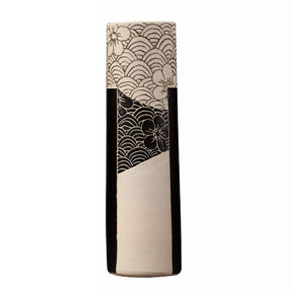 円柱装飾花瓶 セラミック花瓶AXZHYZ190529006クリエイティブモダンホームリビングルームの装飾飾り円筒形花瓶 写真円柱装飾花瓶ライフ花瓶フラワーショップブーケボックス B07SDFXR8S