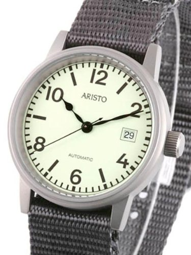Aristo 3H17R U-Boot-Uhr Automatic Watch with Luminous Dial by Aristo