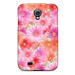 Case Cover Pink Flowers/ Fashionable Case For Galaxy S4