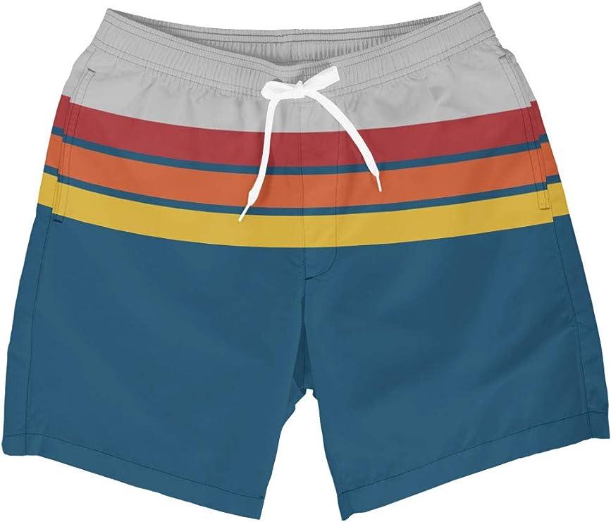 Vintage Men's Swimsuits – 1930s, 1940s, 1950s History Tipsy Elves Mens Summer Swim Trunks - Summer Swim Trunks for Men  AT vintagedancer.com
