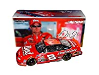 AUTOGRAPHED 2000 Dale Earnhardt Jr. #8 Budweiser Racing (King of Beers) RICHMOND RACE NO BULL 2003 Release Rare Signed Action Collectible 1/24 NASCAR Diecast Car with COA from Trackside Autographs