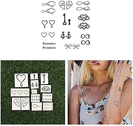 Tatuaje Temporal Tattify - Mejores amigas - Hermana del alma ...