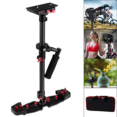 Dodge Release Bearing - ASHANKS HD2000 Handheld Camera Stabilizer, Carbon Fiber DSLR Steadicam for Camcorders SLR DSLR 7D 600D 700D D5200 D3200 Video Camera and DVS, Black