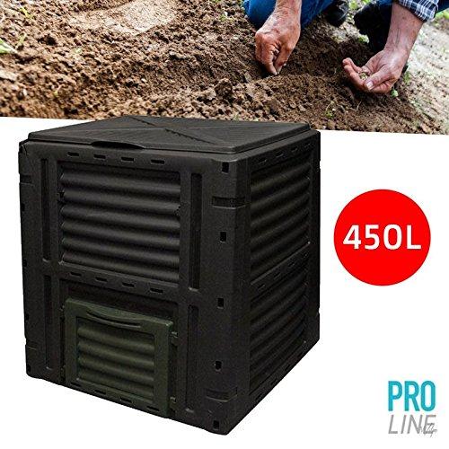 Proline 450 litros Compost Contenedor: Amazon.es: Jardín
