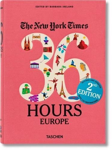 The New York Times: 36 Hours Europe, 2nd Edition cover