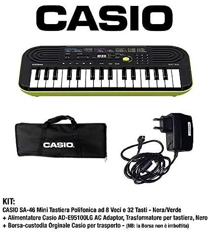 SA-46 - Mini teclado polifonica cromática de 8 y 32 Botones Color ...