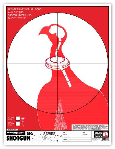(Thompson Target - Turkey & Clay Pigeon Shotgun Patterning - Premium Shooting Targets 19