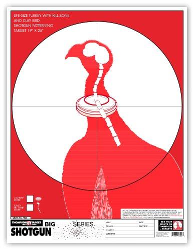 Thompson Target - Turkey & Clay Pigeon Shotgun Patterning - Premium Shooting Targets 19