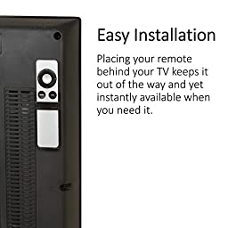 TotalMount Apple TV Mounting Shelf and Remote Holder (for 2nd and 3rd generation Apple TVs)