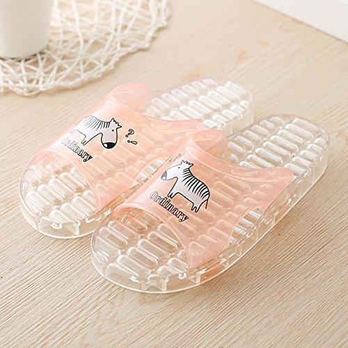 DogHaccd Zapatillas,Sandalias de verano, encantadora pareja interior antideslizante home stay bañera balneario cool zapatillas macho El agua en polvo4
