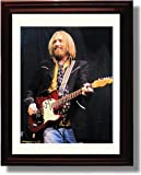 Framed Tom Petty ''On Stage'' Autograph Replica Print