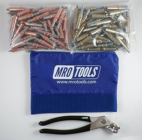 co Fasteners + Cleco Pliers w/Mesh Carry Bag (K4S100-1) ()