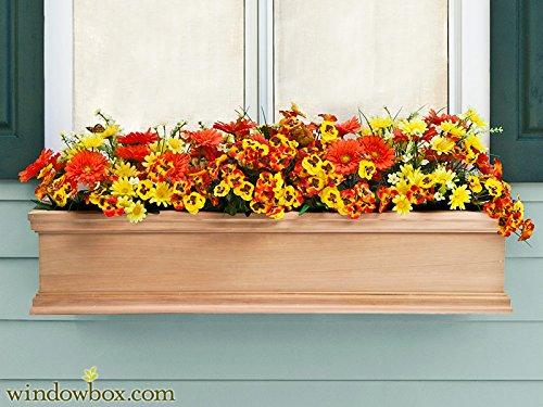 Cedar Window Box (Petite Cedar Lancaster Window Box 36
