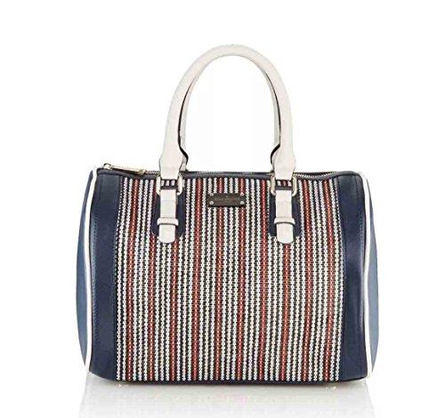 Pauls Boutique London, Borsa a mano donna Blu Multicolore