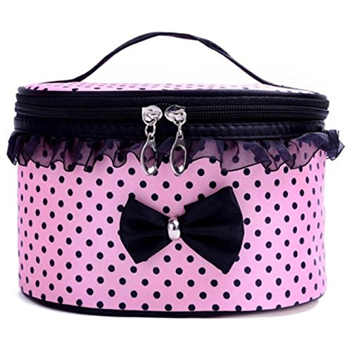 Embroidered Leather Toiletry Bag - 2