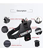 Dog Harness PETFLY Adjustable Dog Harness No Pull Harness for Dogs (L)