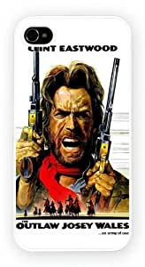 Clint Eastwood The Outlaw Josey Wales iPhone 4 Case